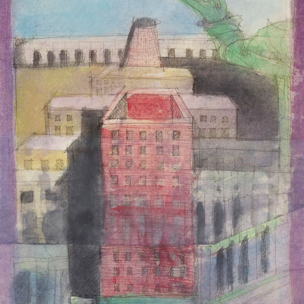 Aldo Rossi  |  Study - drawing