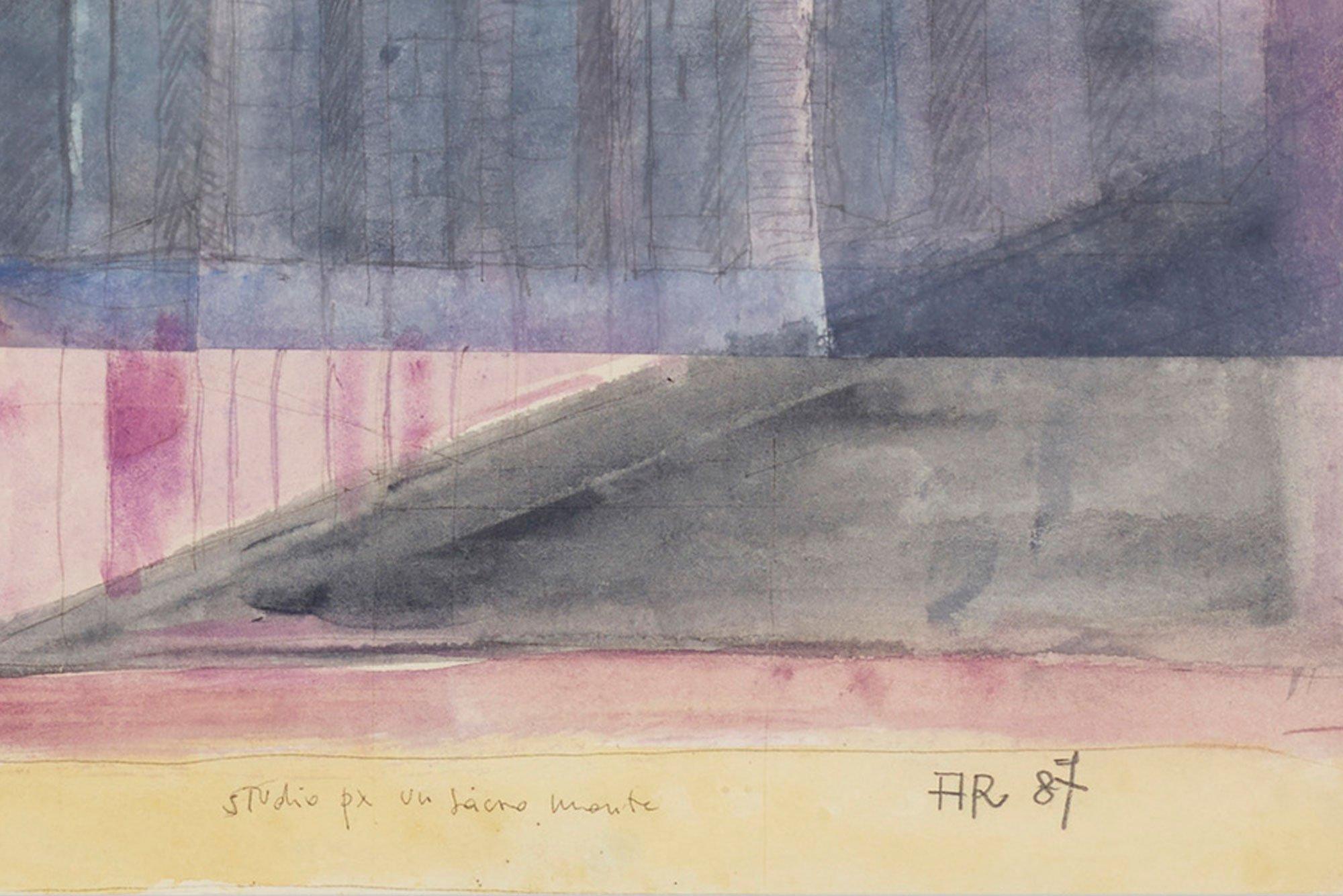 Aldo Rossi  |                              Study - drawing