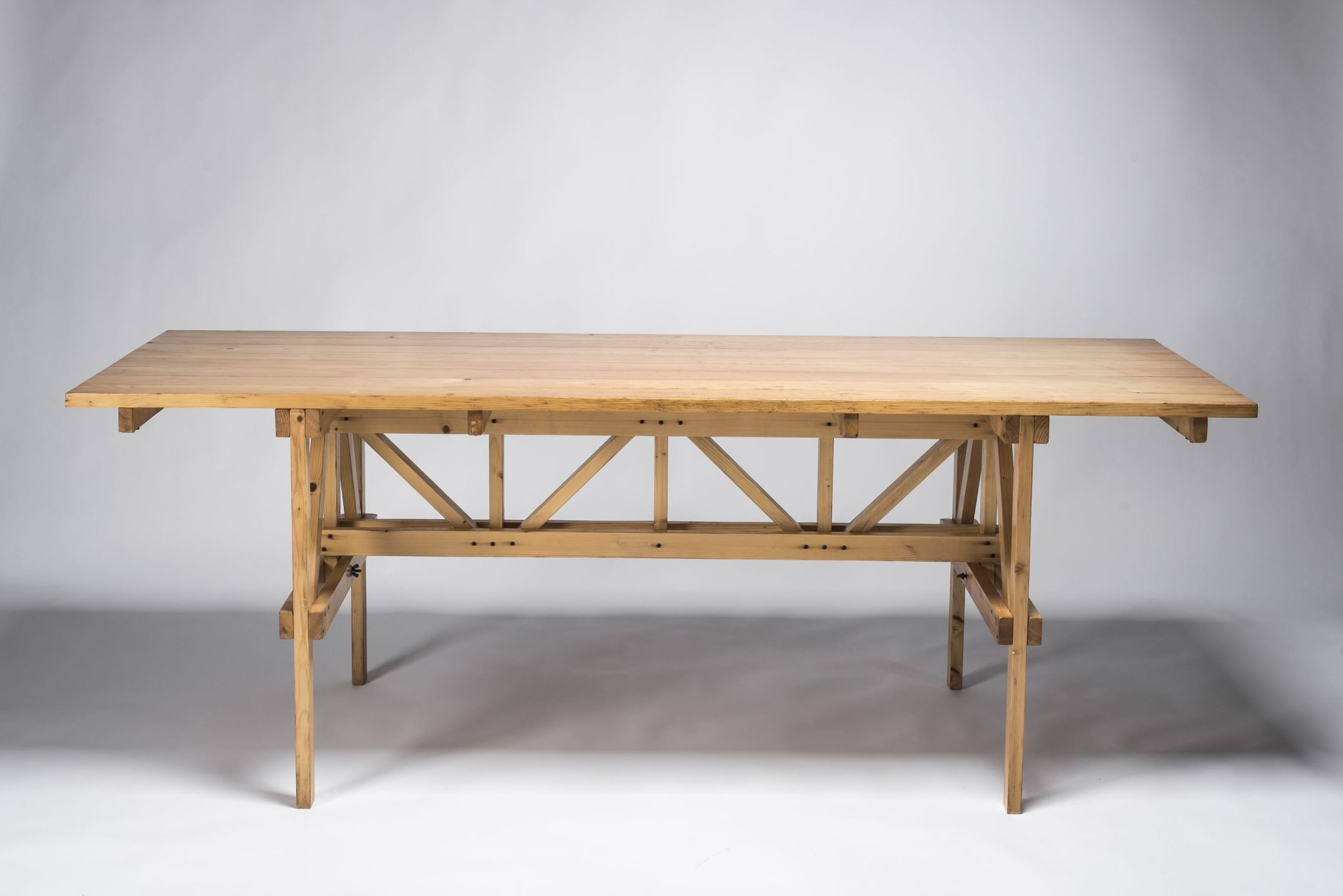 Autoprogettazione table by Enzo Mari at design and furniture gallery Casati Gallery