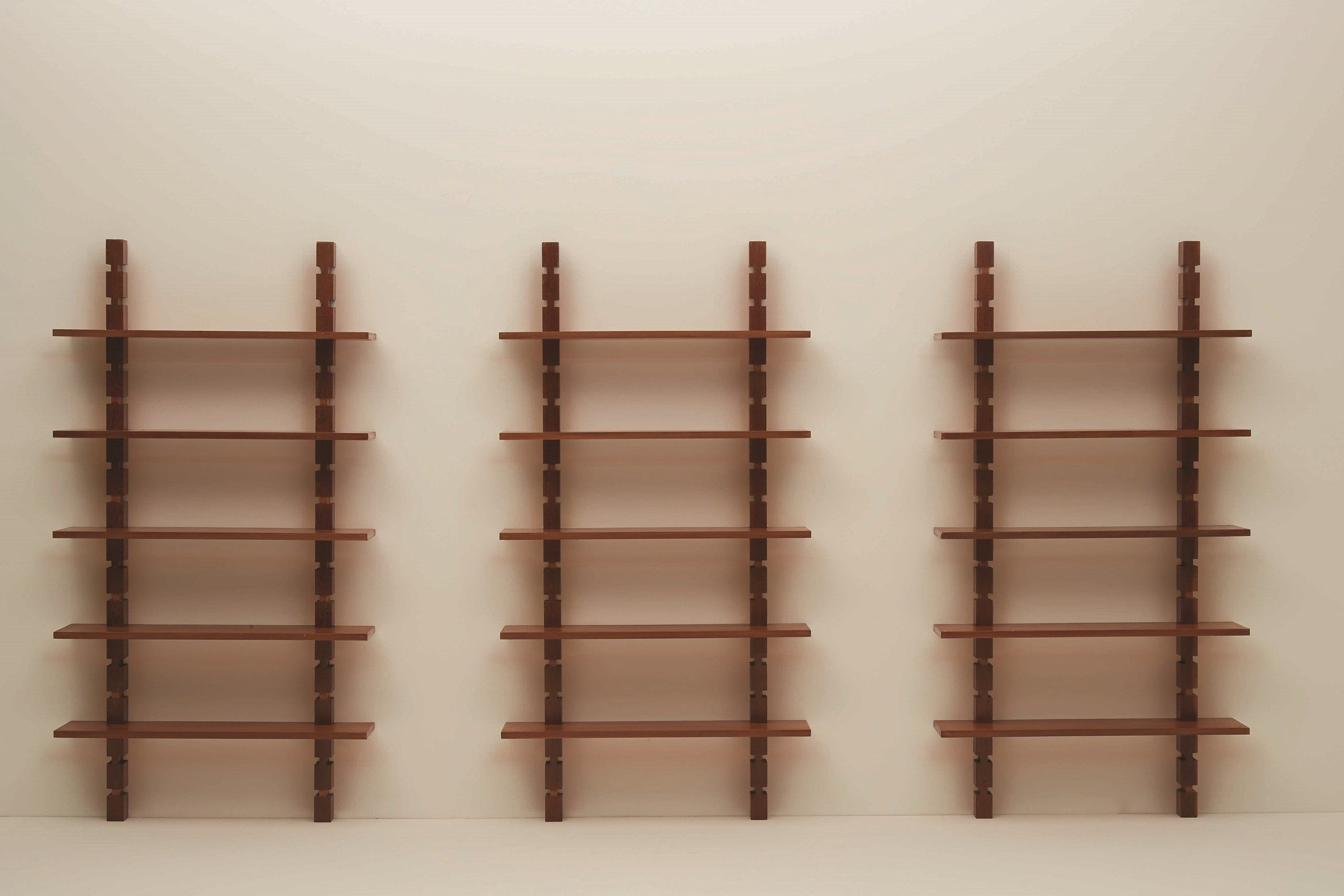 Ignazio Gardella |  Three-module bookcase