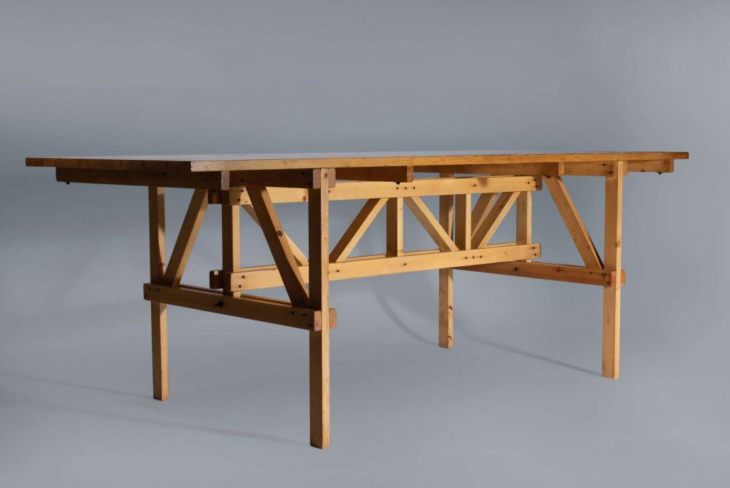 Enzo Mari Autoprogettazione table product picture with light