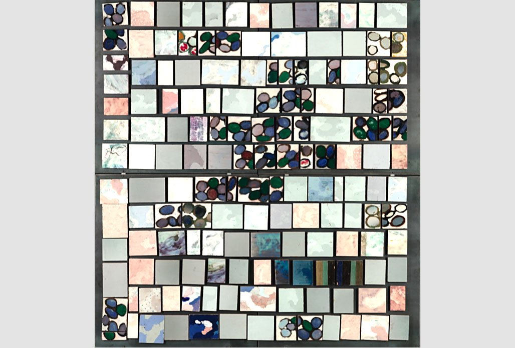 Fausto Melotti |   Enameled polychrome ceramic tiles