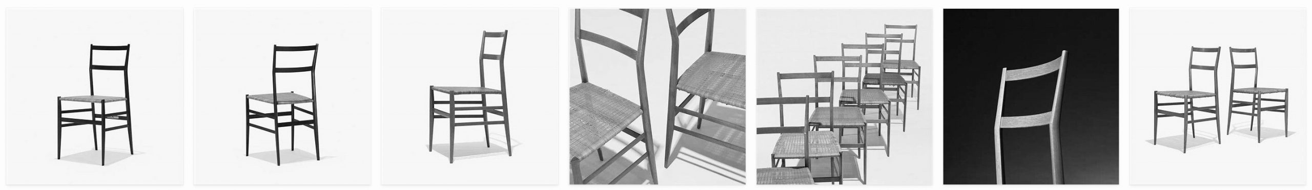 Superleggera chairs by Gio Ponti