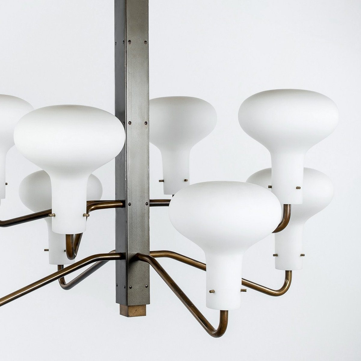 Ignazio Gardella |                                  Eight-arm chandelier