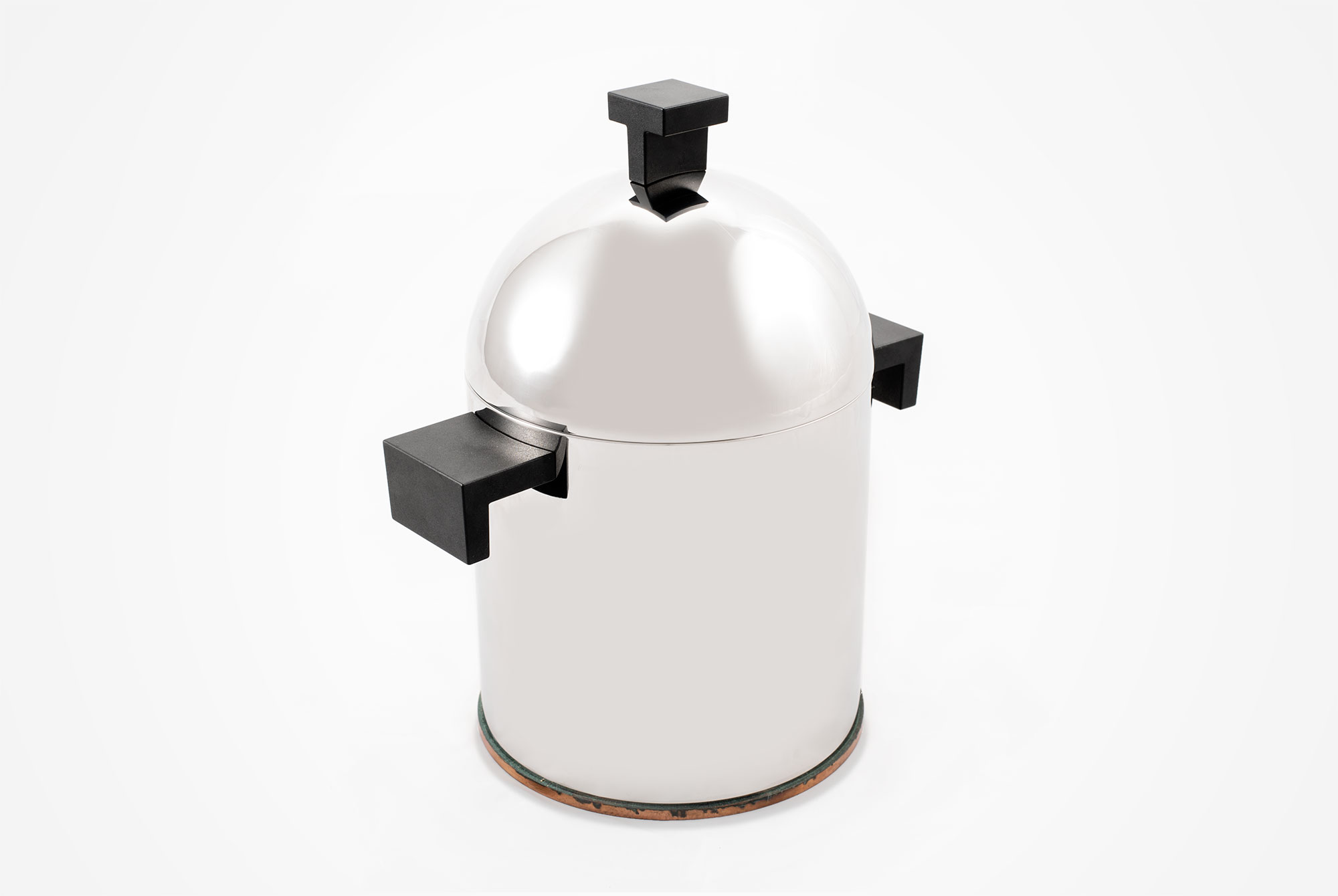Aldo Rossi  |                              Stainless steel pot