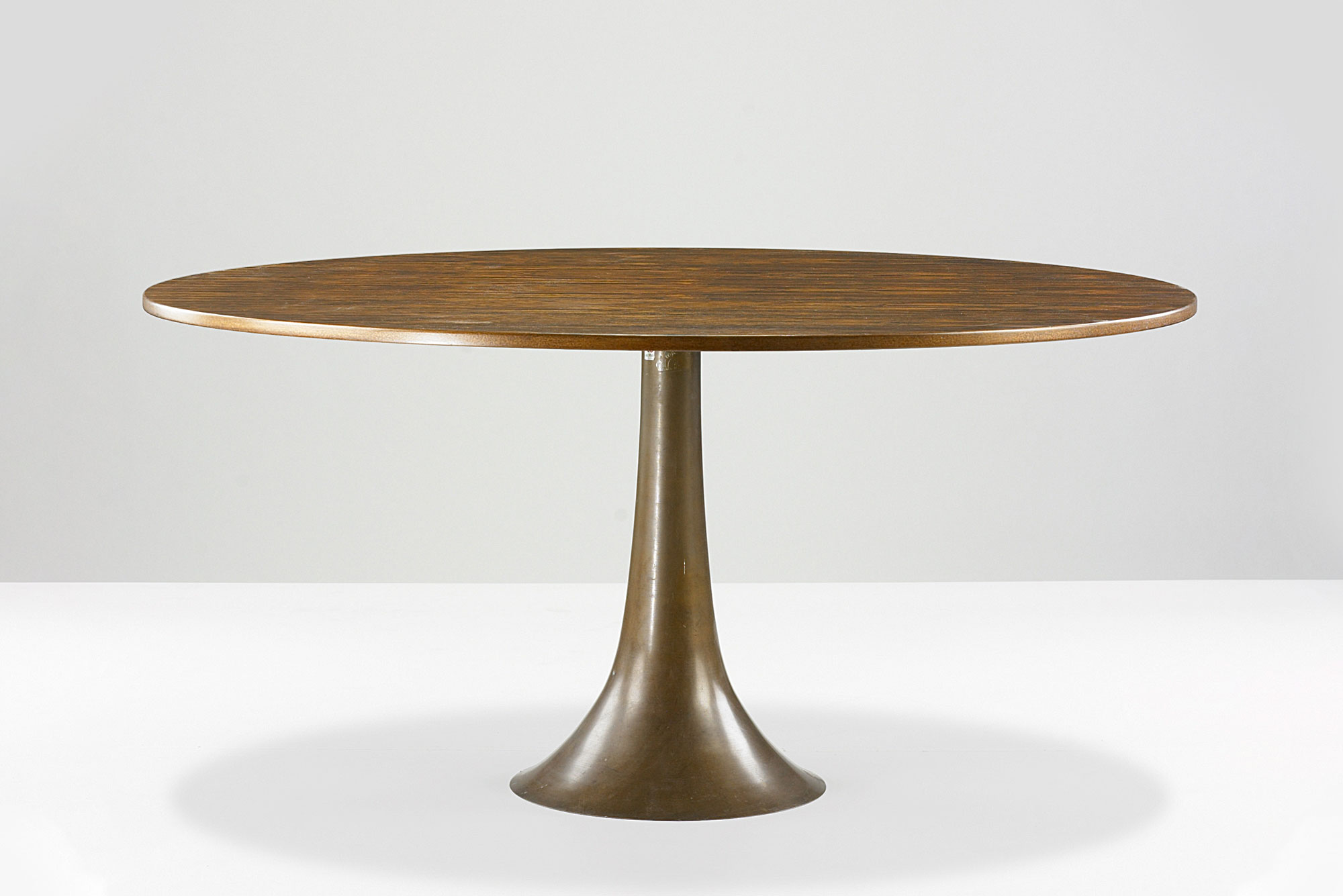 Dining table with wooden top