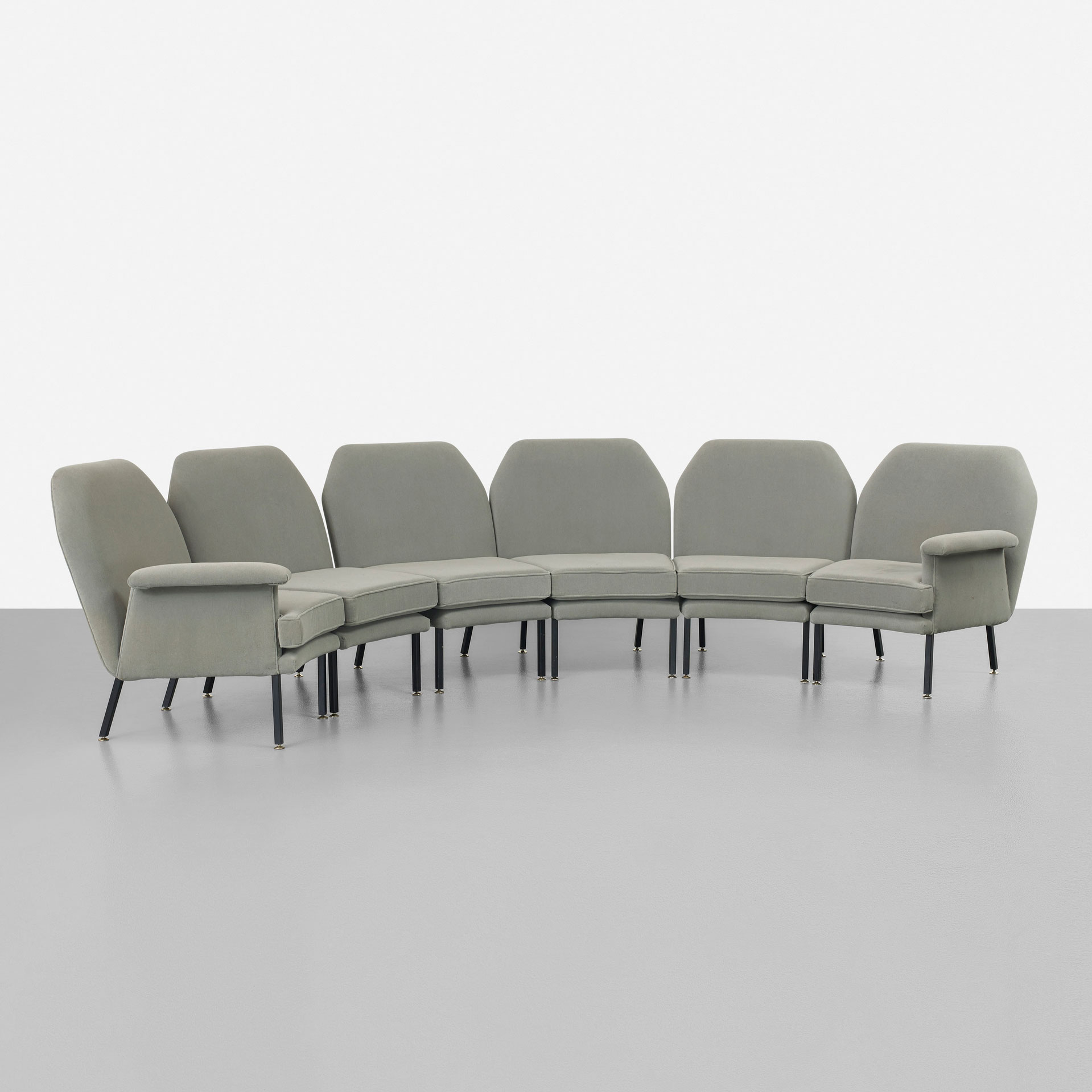 Angelo Mangiarotti  |                                  Modular sofa