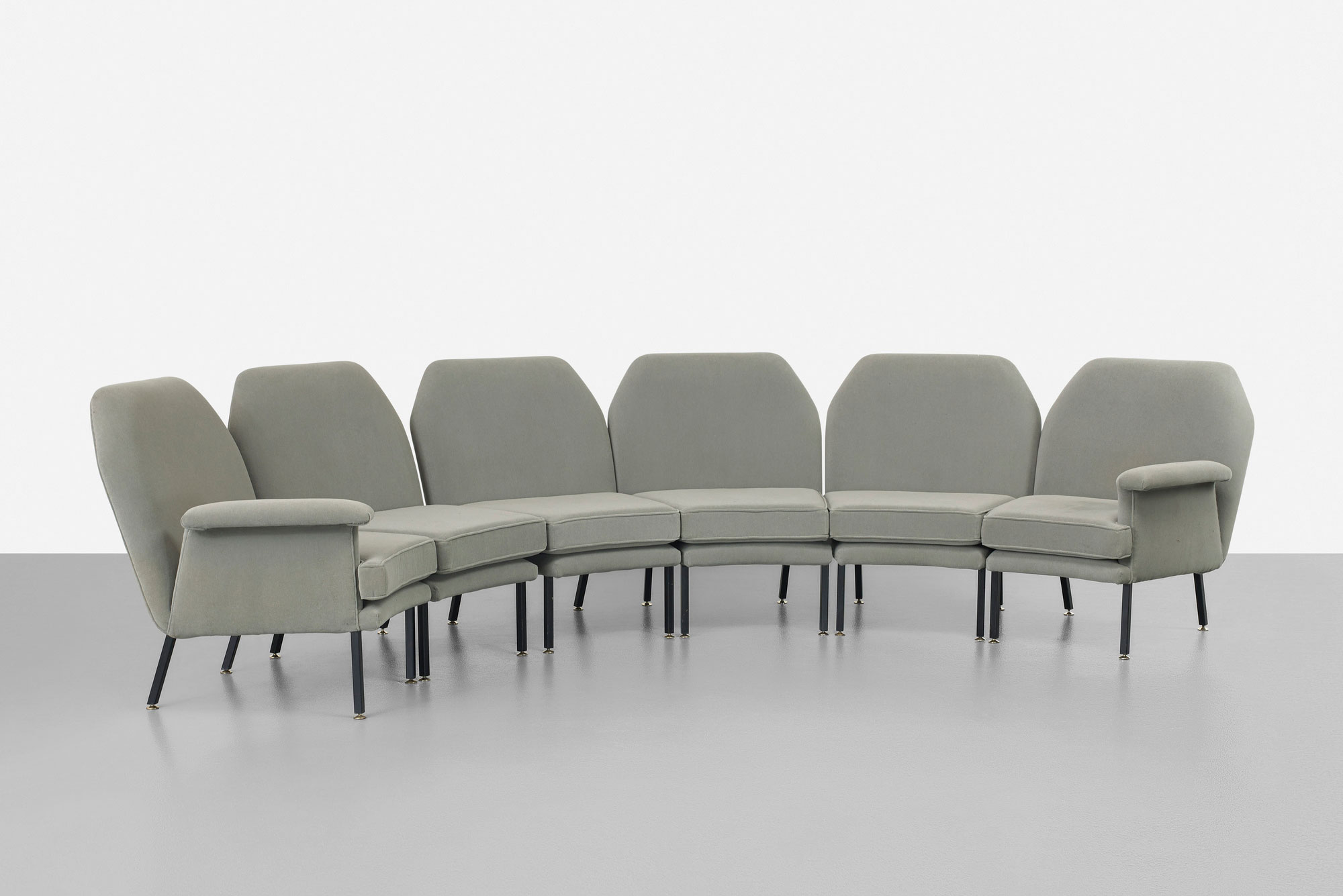 Angelo Mangiarotti  |                              Modular sofa