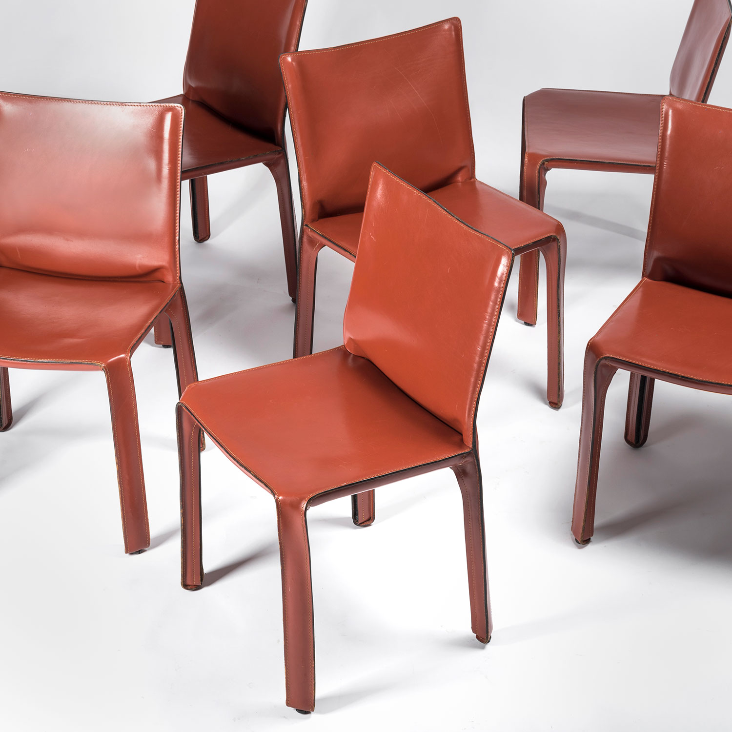 Mario Bellini  |                                  CAB chair - set of 6