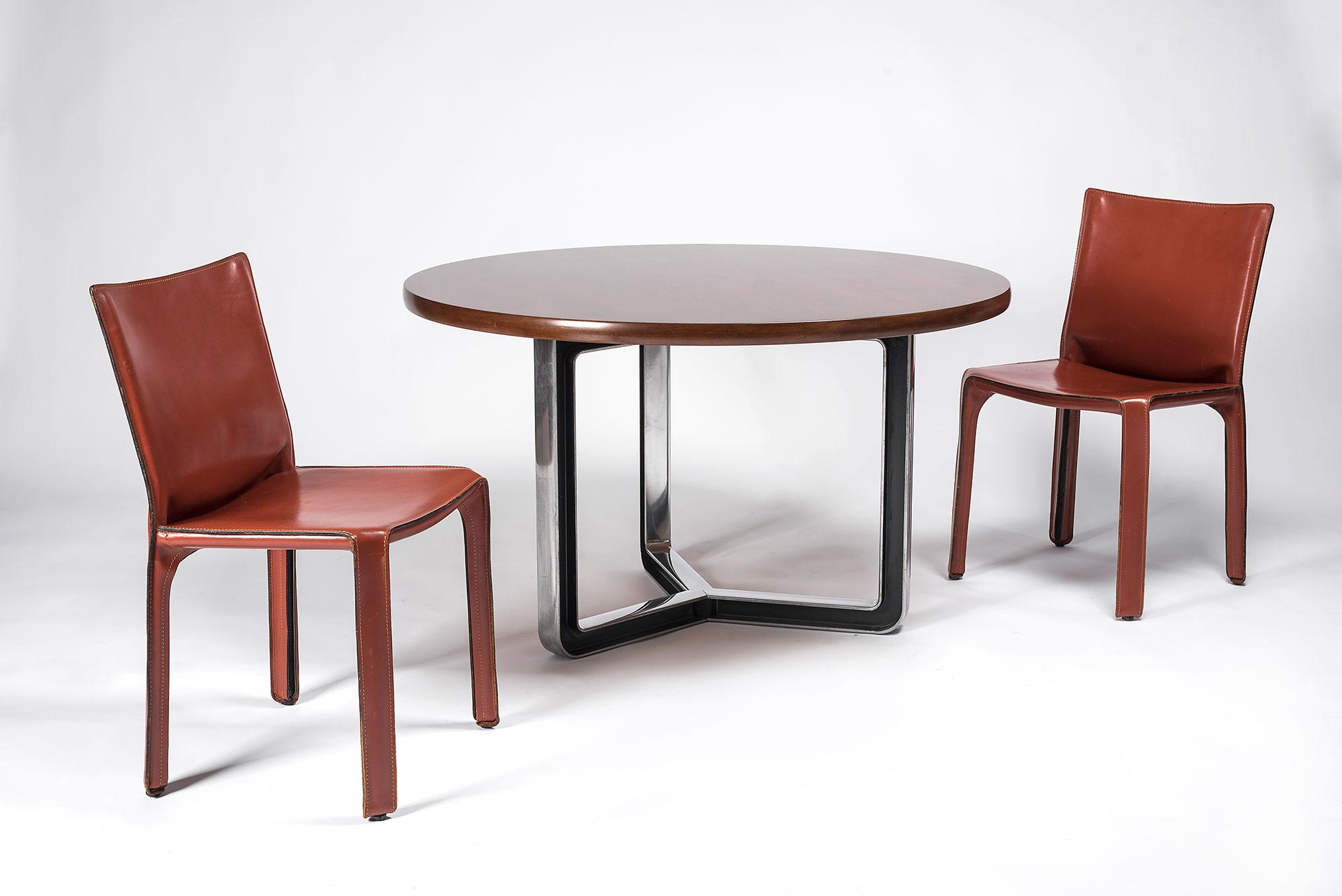 Mario Bellini  |                              CAB chair - set of 6