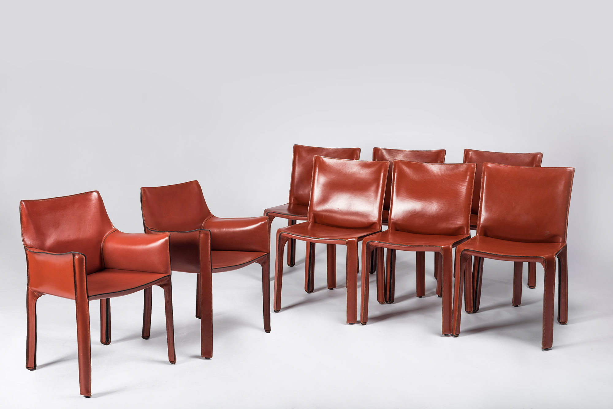 Mario Bellini  |                              CAB chair - pair