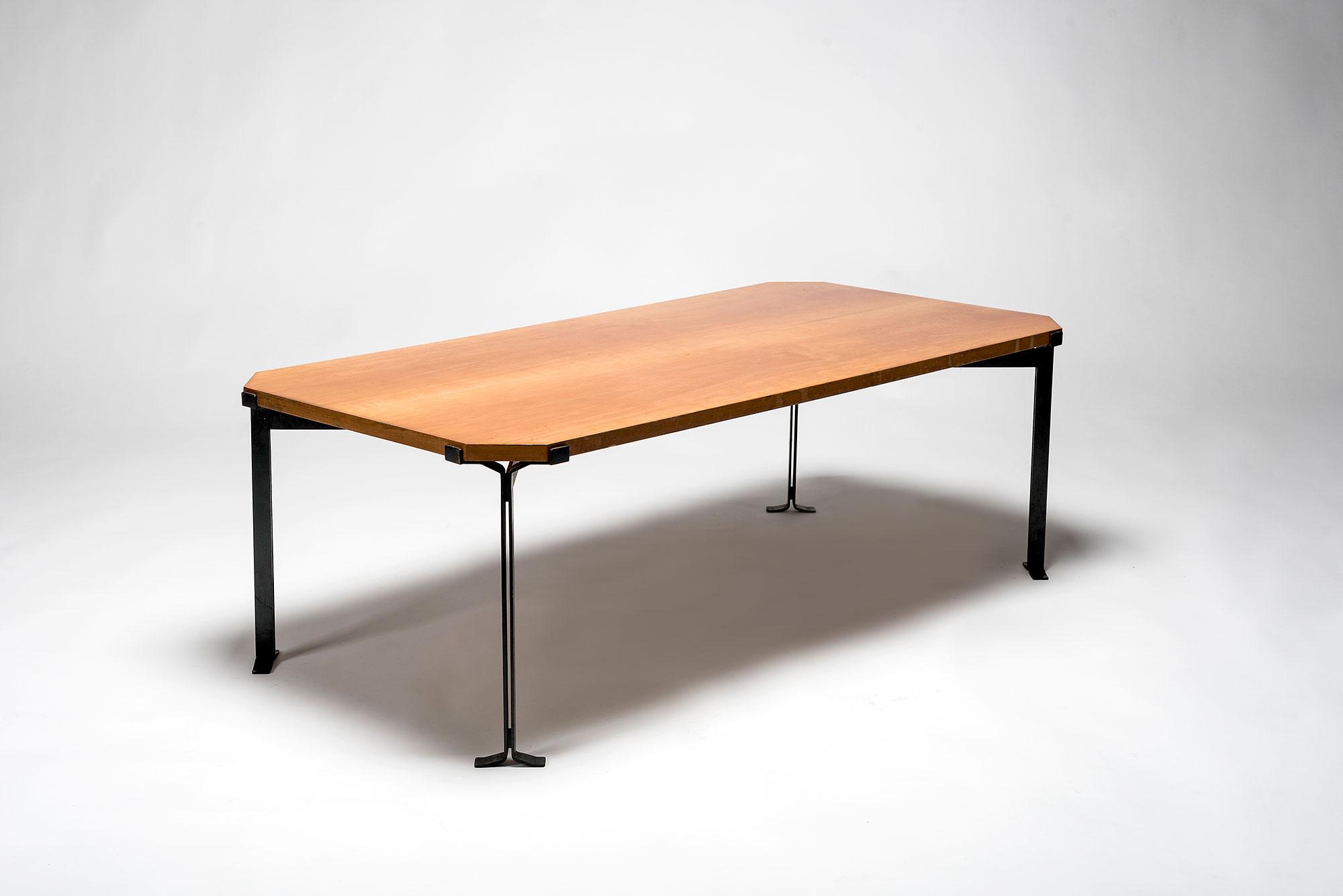 Studio BBPR  |                              Walnut coffee table