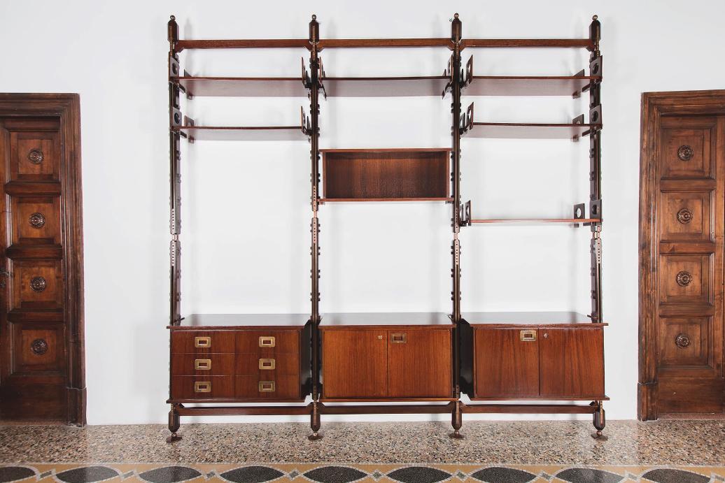 Ico Parisi  |                              Library, model 1960.9