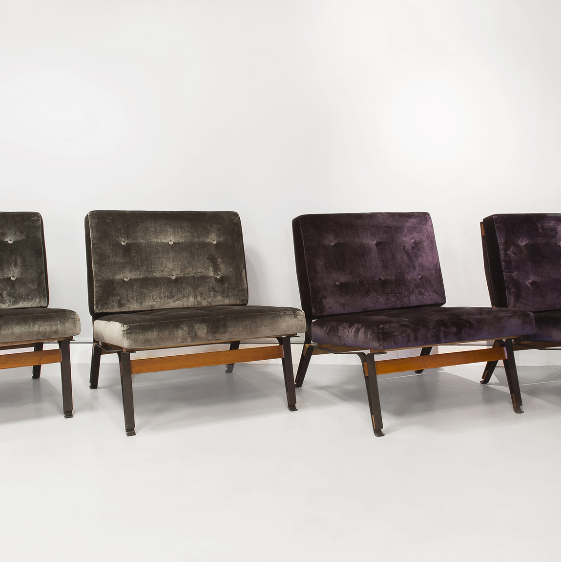Ico Parisi  |                                  Chairs, model 856