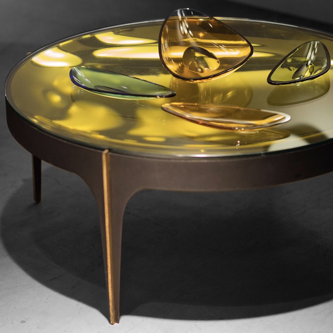 Max Ingrand  |                                  Coffee table, model 1774