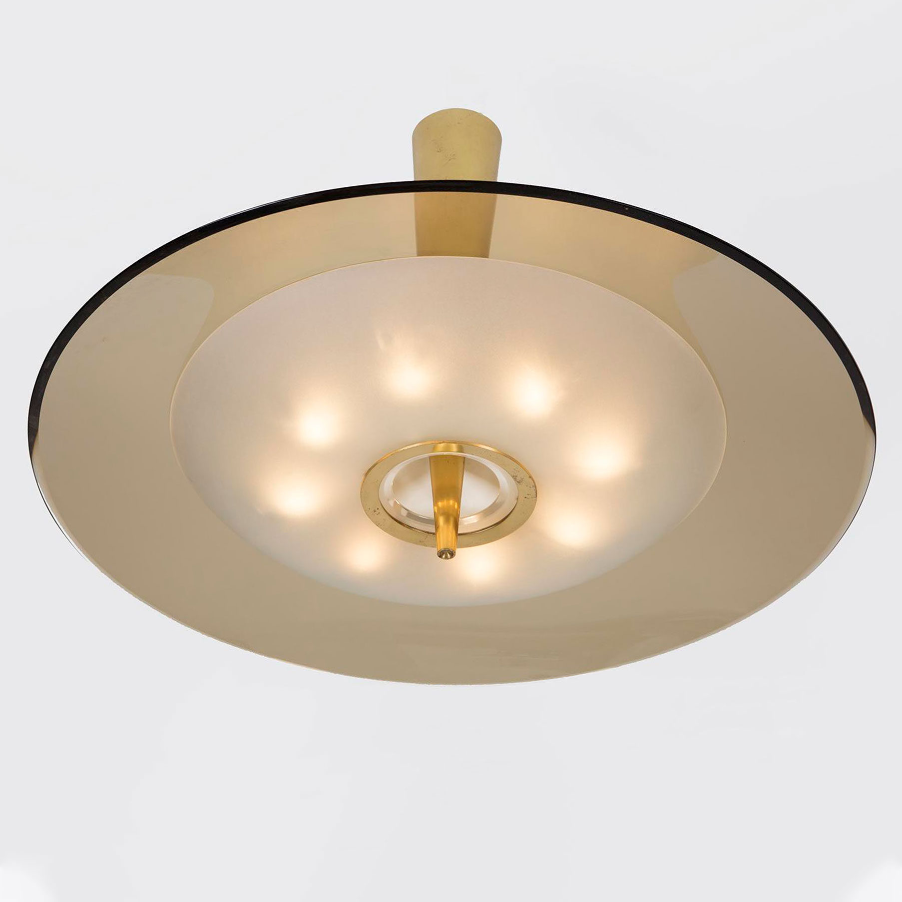 Max Ingrand  |                                  Ceiling light, model 1462