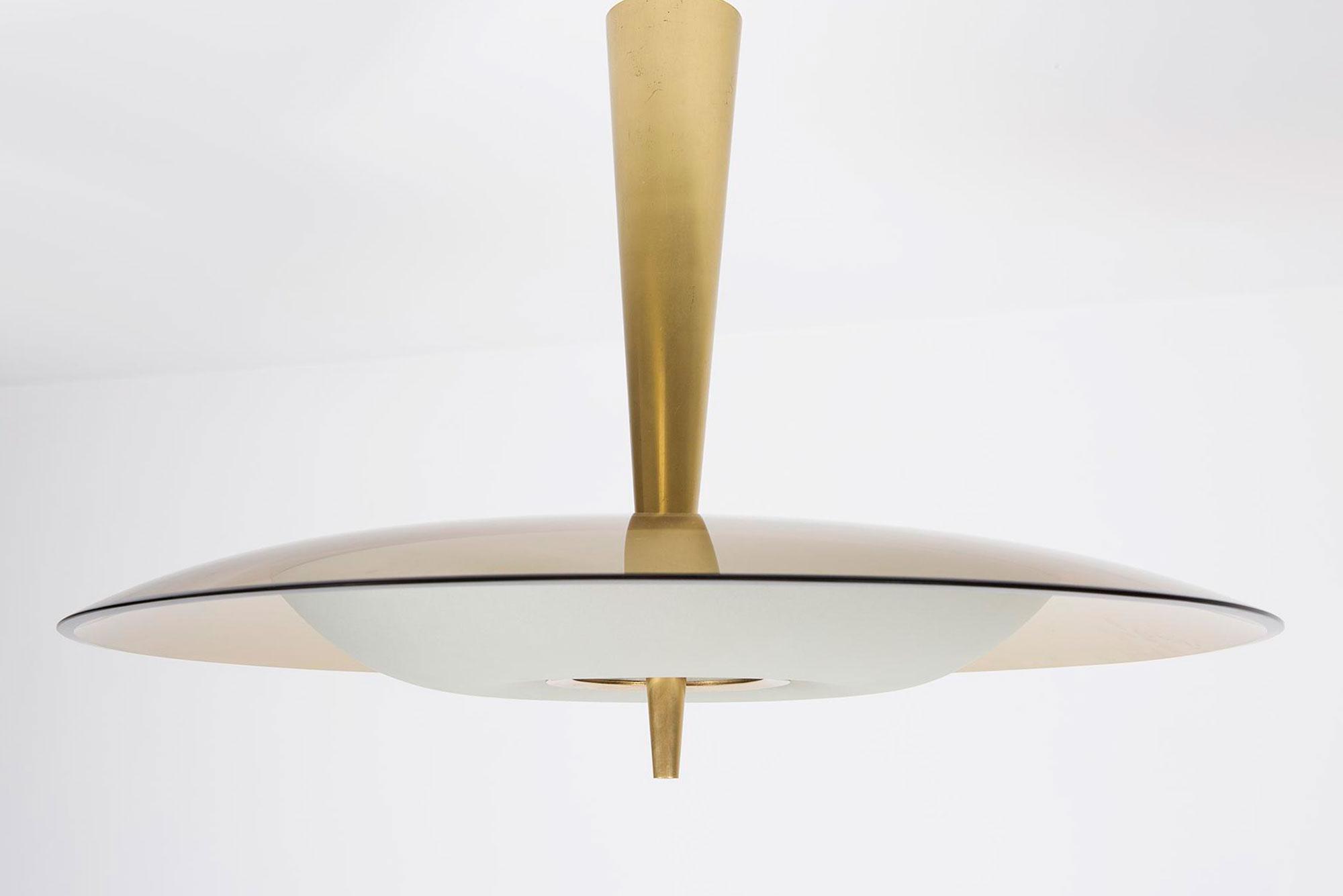Max Ingrand  |                              Ceiling light, model 1462