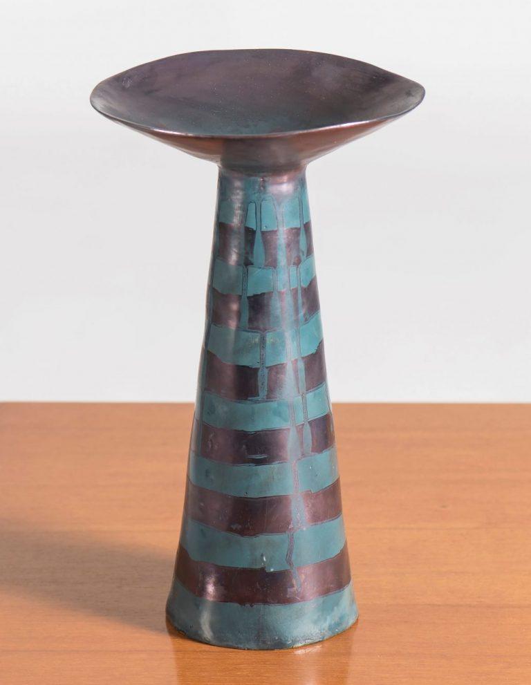 Funto ceramic vase by Fausto Melotti