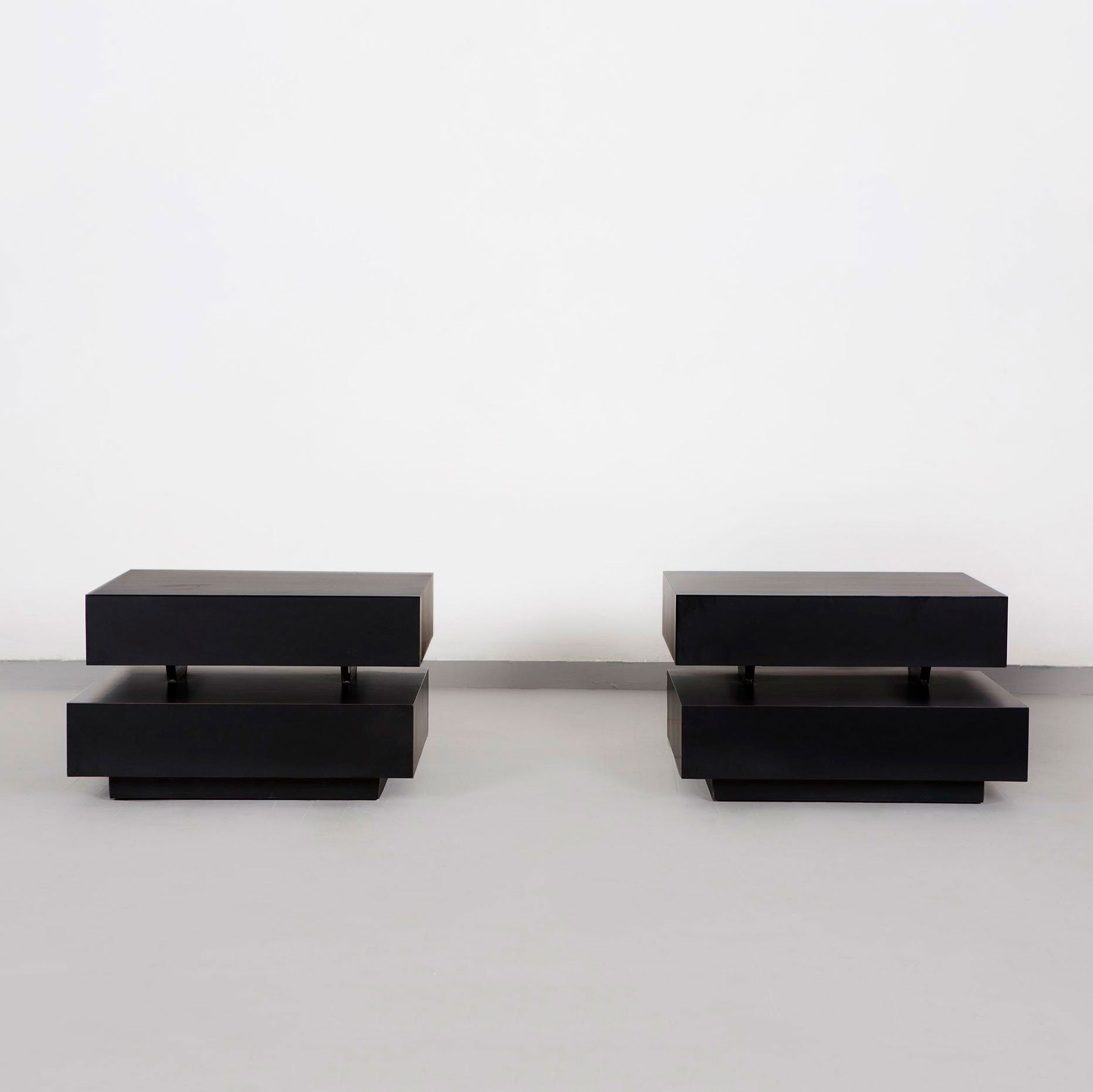 Gabriella Crespi  |                                  Pair of low tables