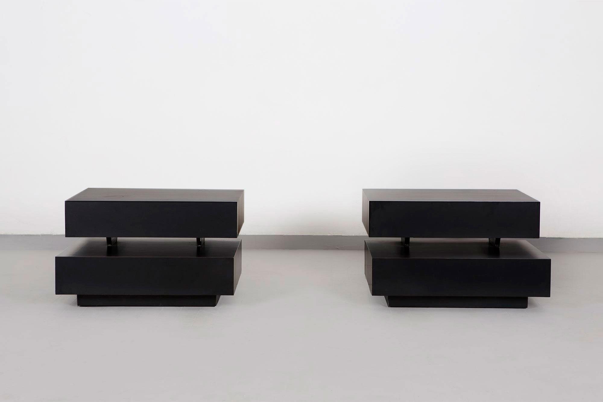 Gabriella Crespi                                 Pair of low tables