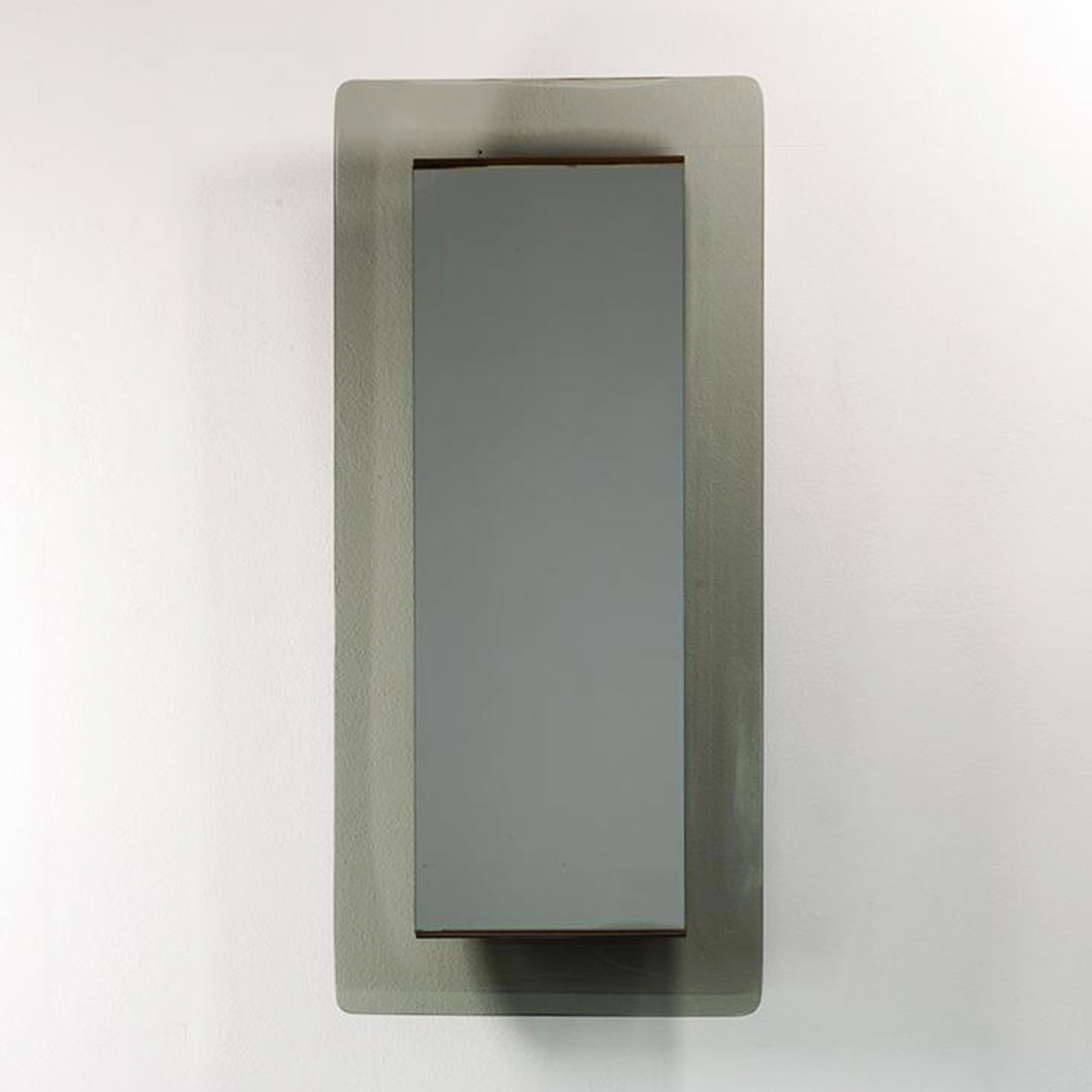 Max Ingrand |                                  Fontana Arte gray mirror Model 2273
