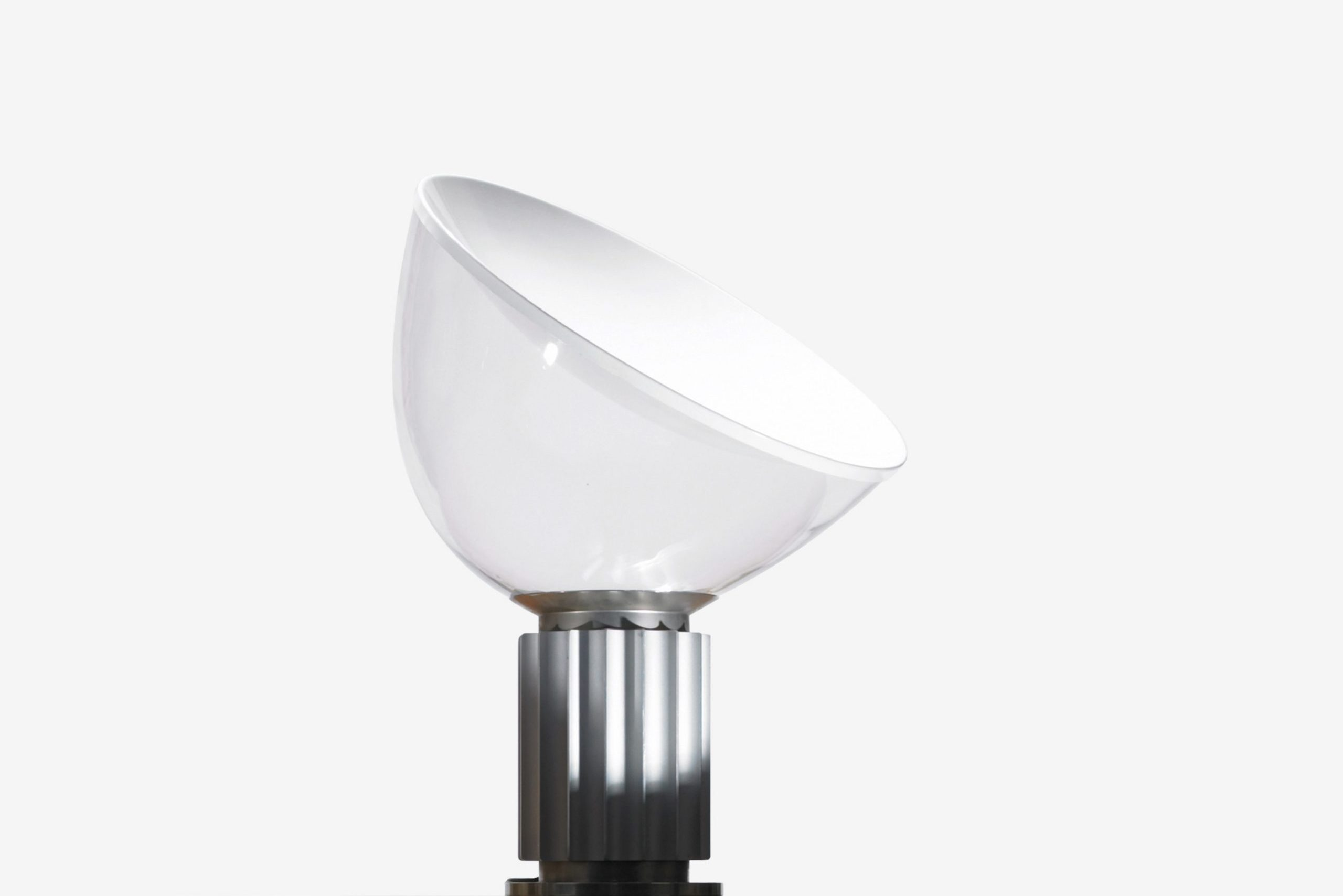 Taccia table lamp by Pier Giacomo and Achille Castiglioni and produced by FLOS