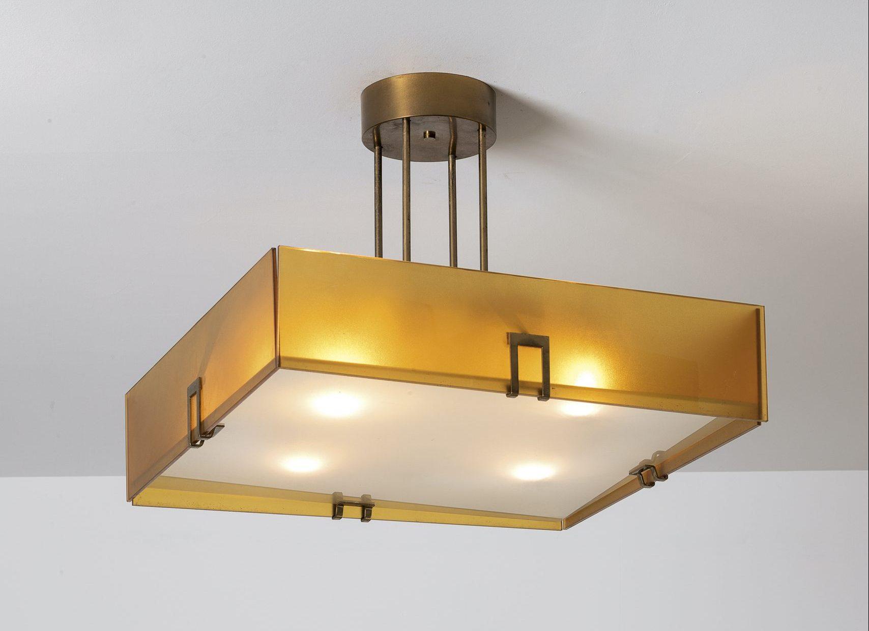 Max Ingrand |                              Fontana Arte Pendant light model 2098