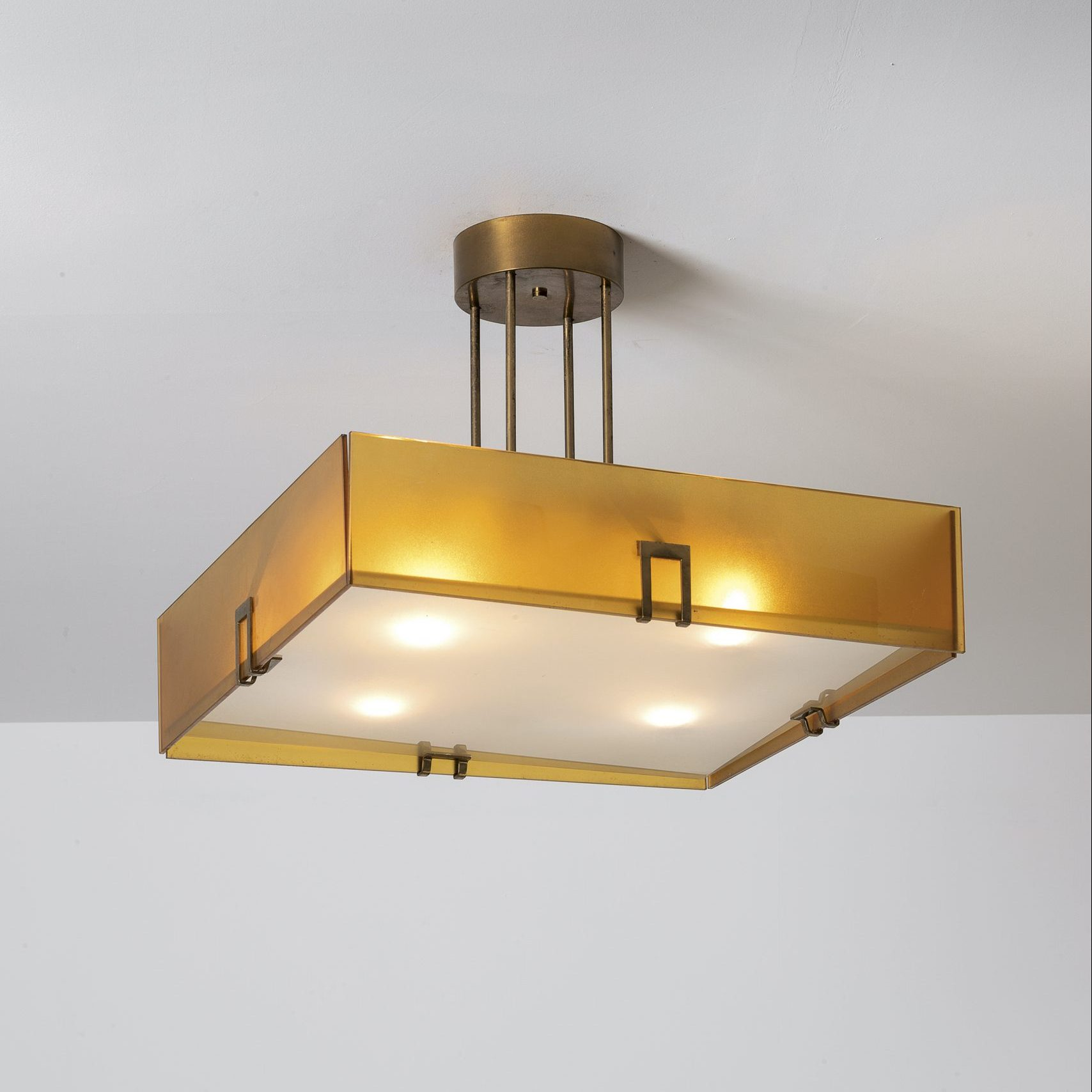 Max Ingrand |                                  Fontana Arte Pendant light model 2098