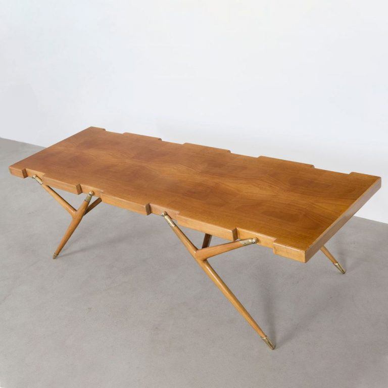 Ico Parisi coffee table model 1112 square feature picture