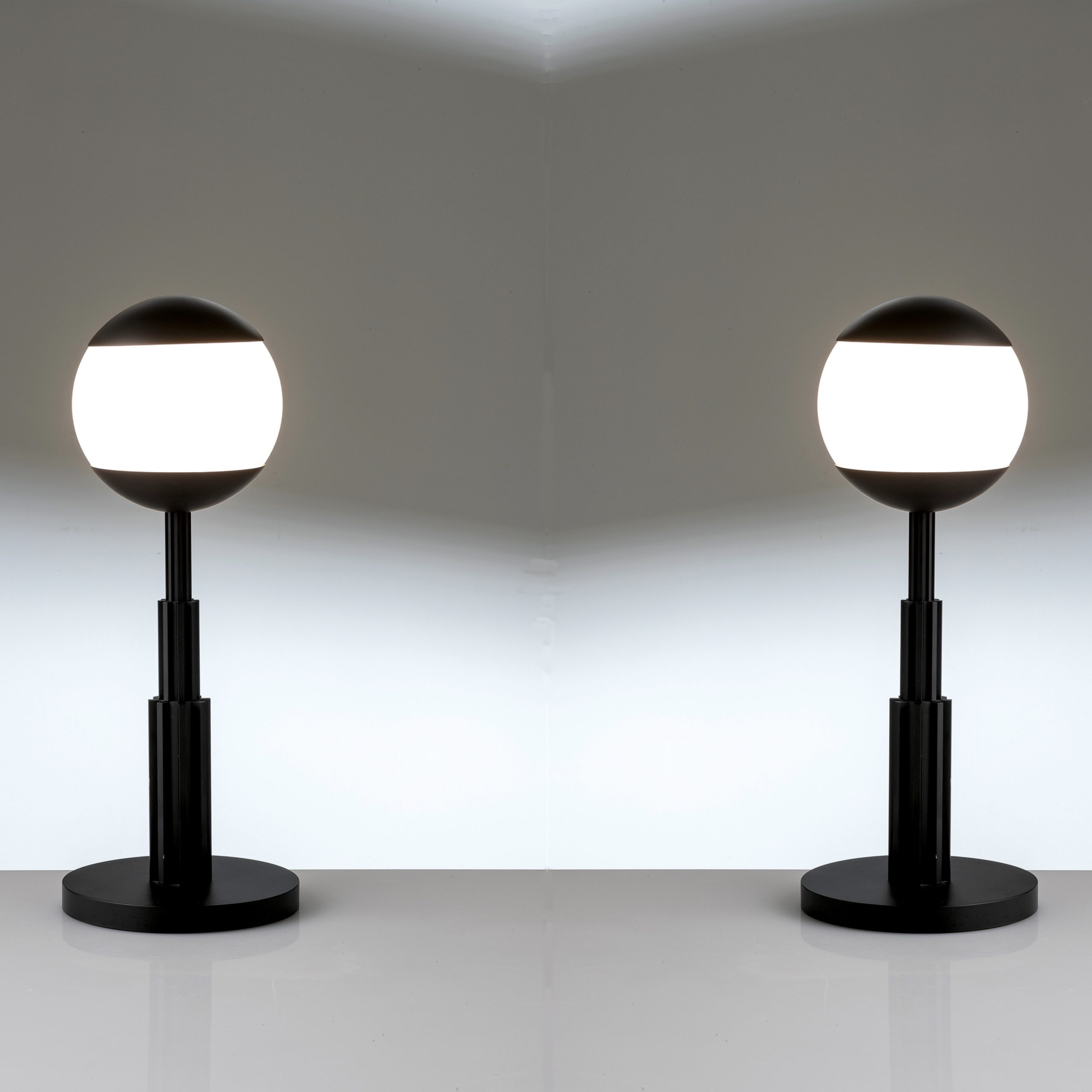Aldo Rossi |                                  Pair of Prometeo table lamps