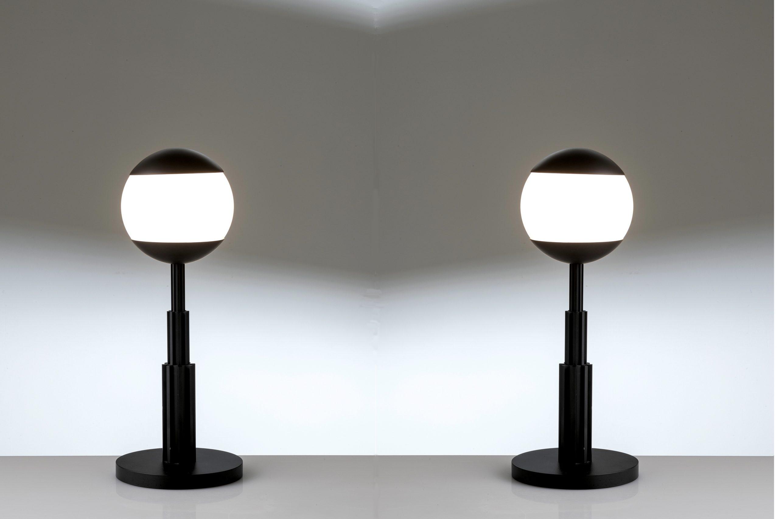 Aldo Rossi |                              Pair of Prometeo table lamps