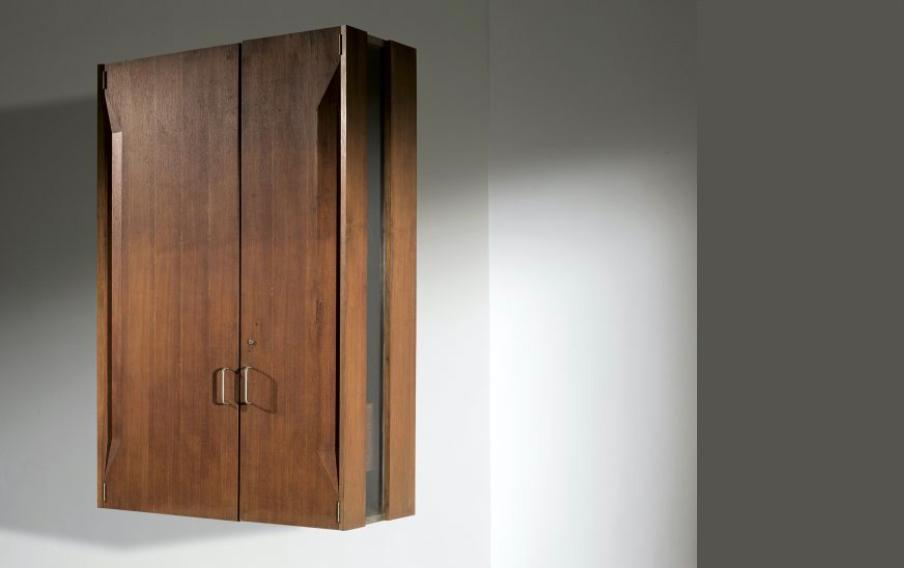 Giovanni Offredi |                              Custom made wall cabinet for Casa C.