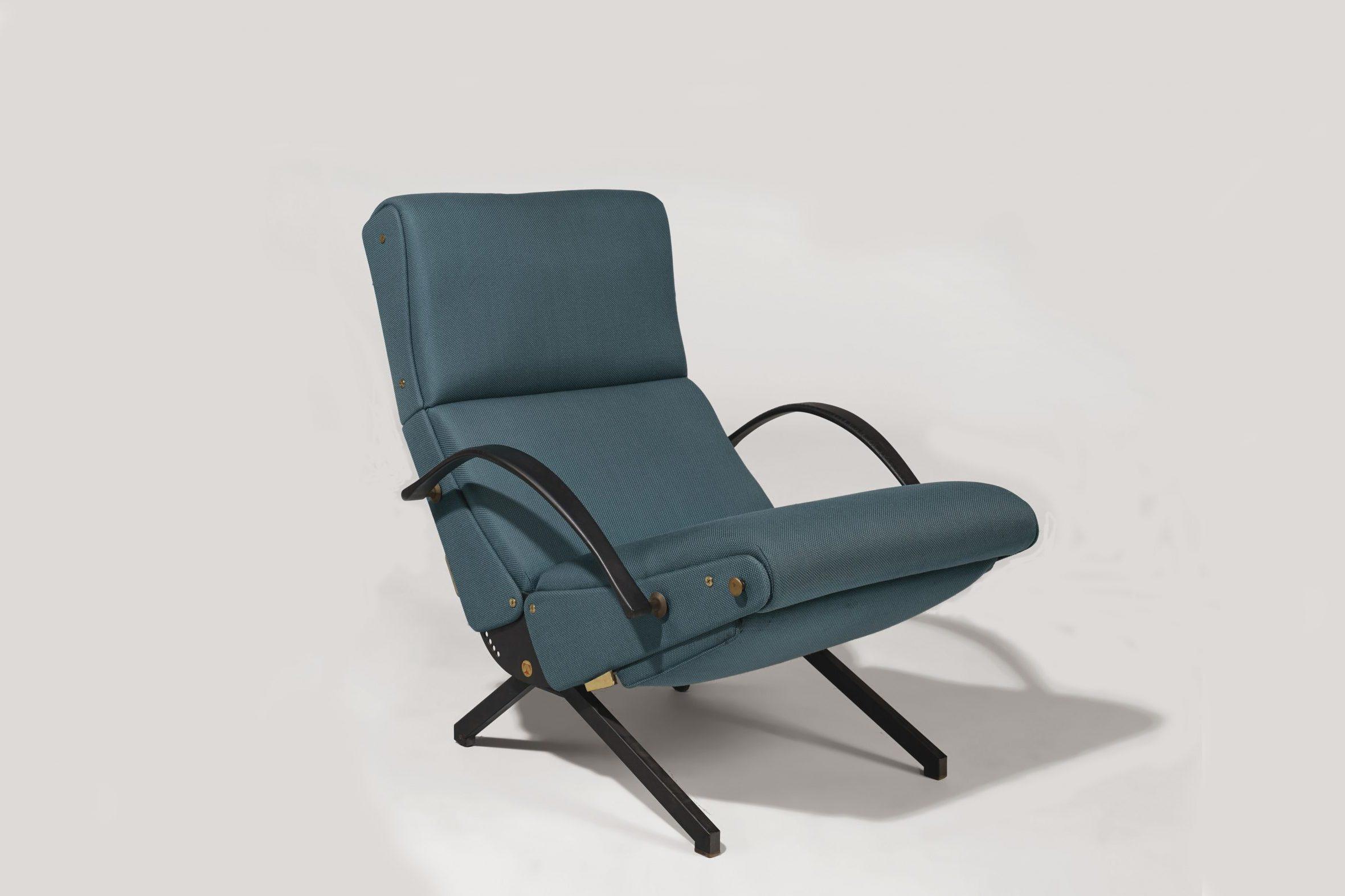 Osvaldo Borsani  |                              Lounge Armchair P40