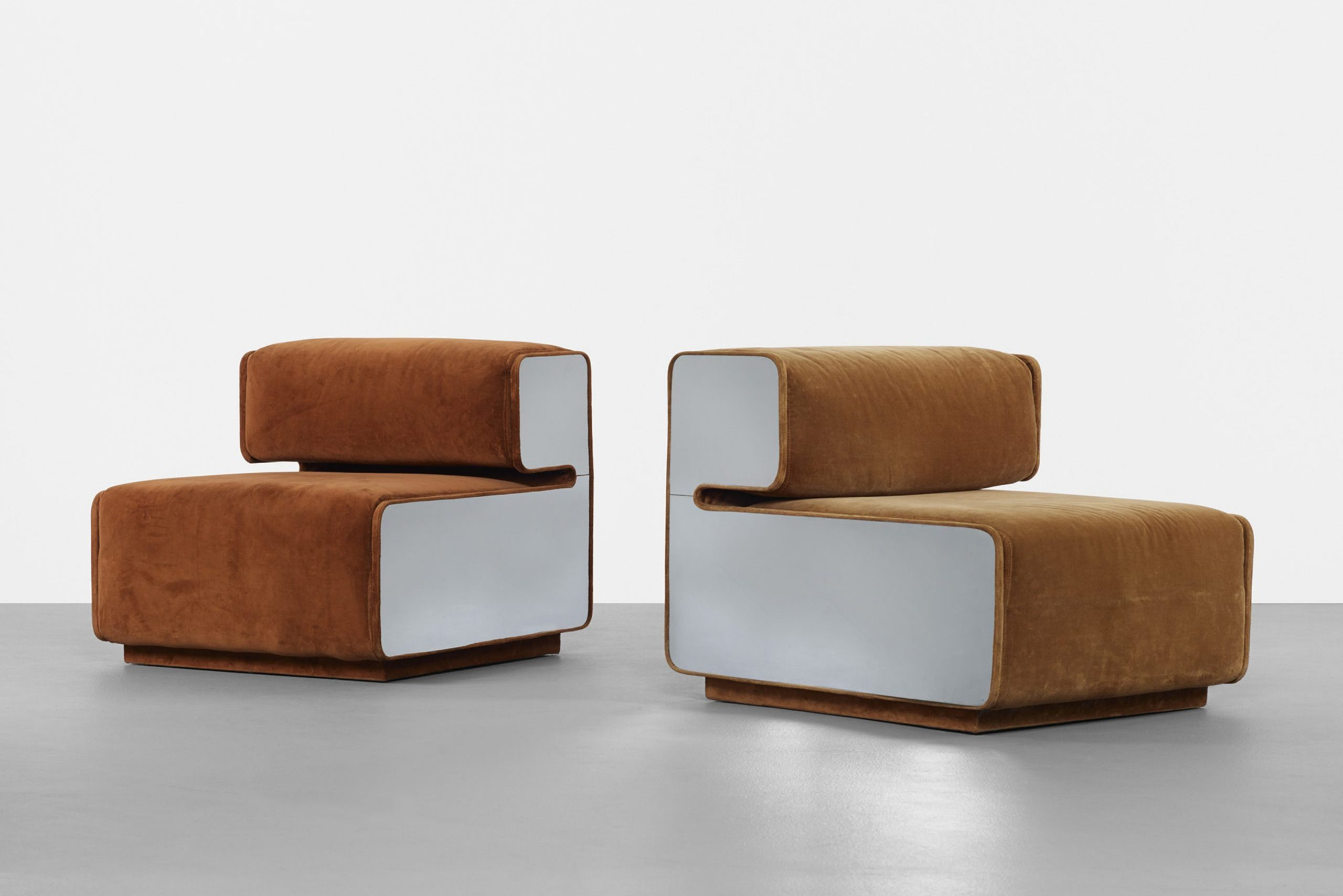 Pierre Cardin lounge chairs (1970)