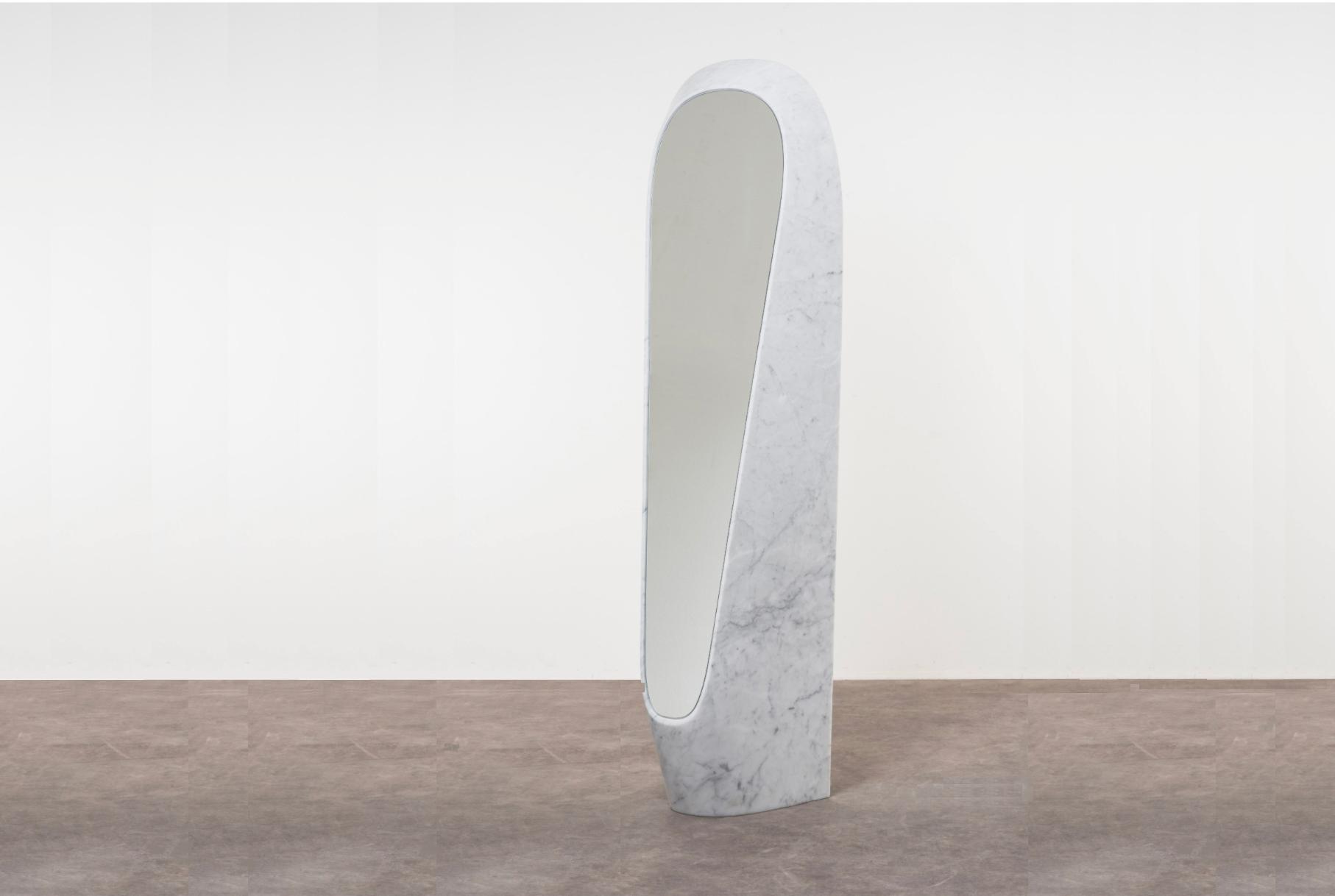 Robert Stadler |                              I Mirror - Carrara marble