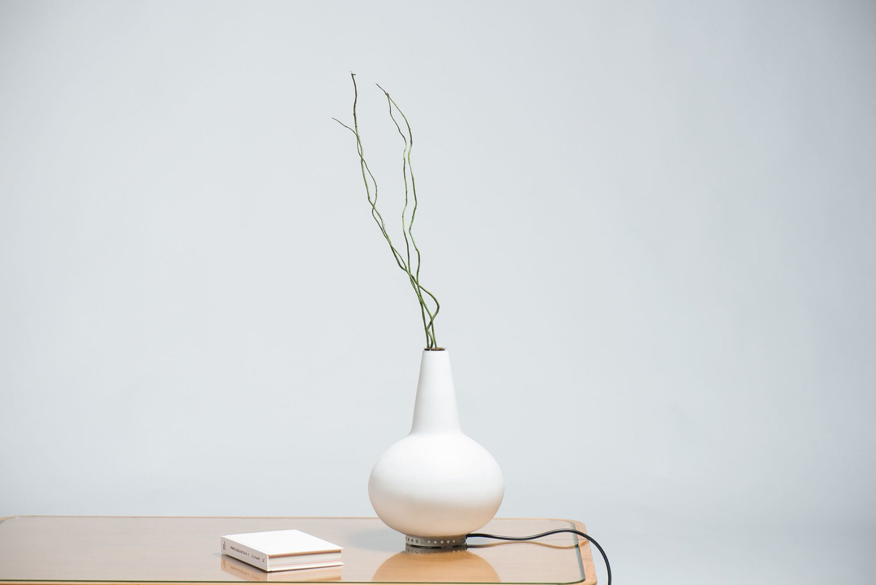 Max Ingrand Omai table lamp with vase, model 2260