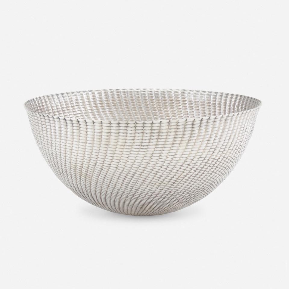 Franco Albini and Franca Helg |                                  Pannocchia silver bowl