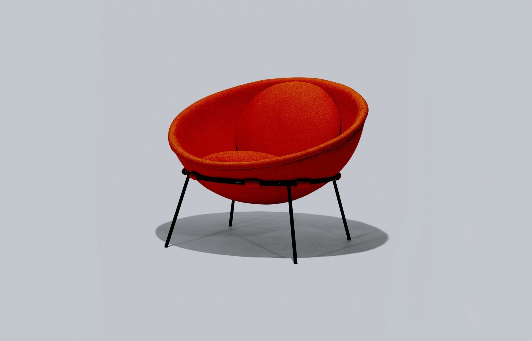 Lina Bo Bardi Bowl chair at Casati Gallery