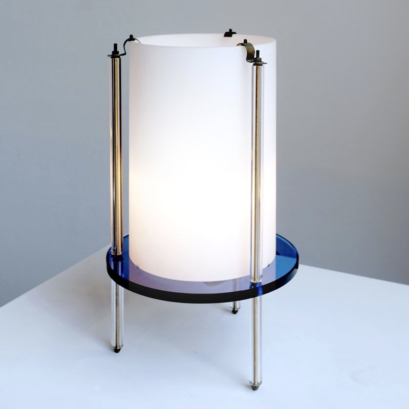 Umberto Riva |                                  Table lamp model 2656 by Fontana Arte
