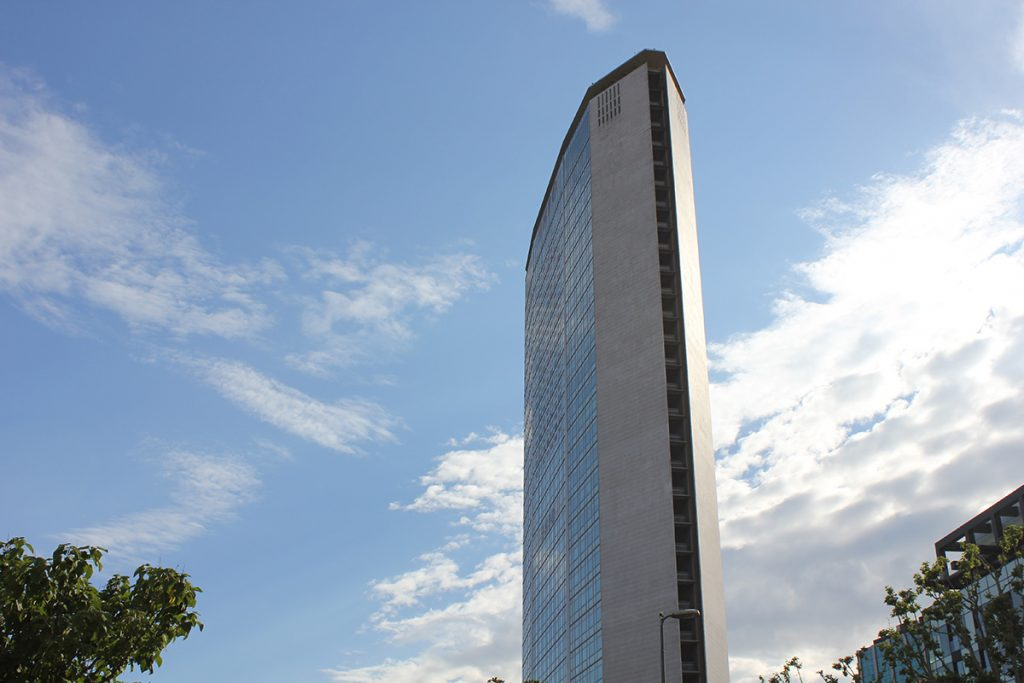 View of the Pirelli Tower