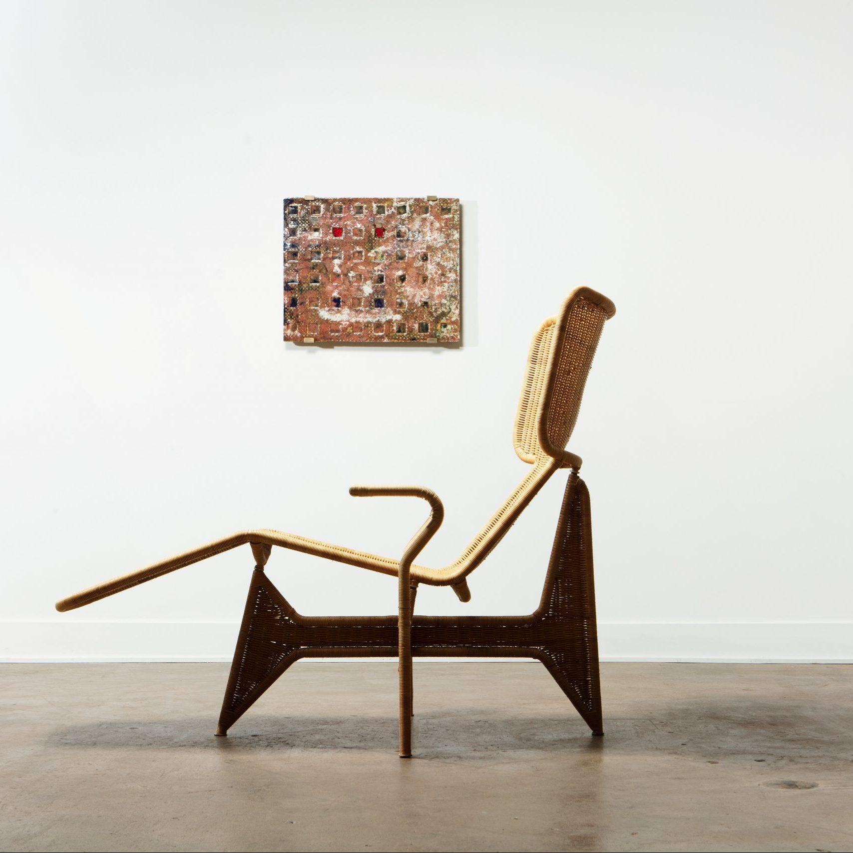 Salvatore Fiume  |                              Rare and unique chaise Lounge by Salvatore Fiume